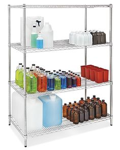 e242f0e9726 Uline stocks a wide selection of stainless steel shelves
