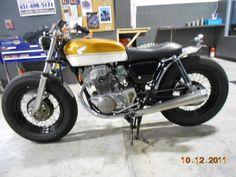 1972 Honda CL350 › Honda CB350 Brat Style Bobber