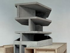 Christian Kerez architect - Model of the House With One Wall, Zurich, Switzerland