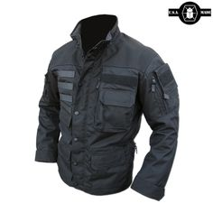 The Kitanica MARK V is the ultimate outdoor jacket. This ¾ length jacket is built using 500 denier CORDURA® with 1000 denier CORDURA® reinforcement on the shoulders, cuffs and elbows and comes with a detachable hood.
