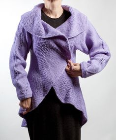 2) Fashion Lady Tunic Cardigan/hand knitted. Line Shopping, Fasion, Hand Knitting, Knit Crochet, Swag, Tunic, Pullover, Street, Lady