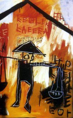 Hand Painted Jean Michel Basquiat Oil Painting on Canvas neo expressionism Jean Basquiat, Jean Michel Basquiat Art, Pop Art, Andy Warhol, New York City, Basquiat Paintings, Radiant Child, Graffiti Kunst, Robert Rauschenberg