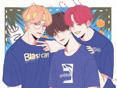 Fanart BTS - Love is nothing stronger - Página 2 - Wattpad Taehyung, Jungkook Jimin, Fanart Bts, Bangtan Bomb, Bts Drawings, Bts Chibi, Bts Fans, About Bts, Cute Gay