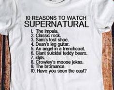 Image result for supernatural t shirts india