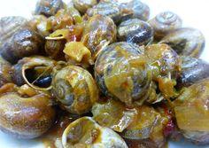 Snails Recipe, Spanish Food, Sprouts, Sandwiches, Vegetables, Fruit, Recipes, Gastronomia, Escargot Recipe