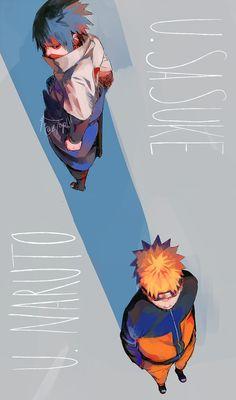 Tags: Fanart, NARUTO, Uzumaki Naruto, Uchiha Sasuke, Pixiv, PNG Conversion, Fanart From Pixiv, Pixiv Id 3513528