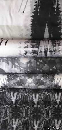 Charlotte Buller: Structural Fashion Autumn/Winter 2015/16 womenswear collection - Digital Prints