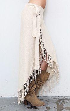 Cotton Lycra Fringe Skirt ╰☆╮Boho chic bohemian boho style hippy hippie chic bohème vibe gypsy fashion indie folk the . Hippie Style, Estilo Hippie Chic, Mode Hippie, Bohemian Mode, Gypsy Style, Hippie Boho, Bohemian Style, Bohemian Fashion, Bohemian Dresses