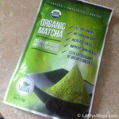 Kiss Me Organics' Matcha Green Tea