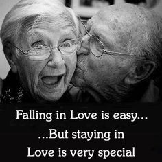 I'm definitely looking forward to growing old together:) Love you Real Love, Love Of My Life, True Love, Love You, My Love, Love Quotes For Him, Quotes To Live By, Old Couples, Elderly Couples