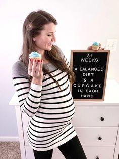 31 Weeks Pregnancy Update Happy Pregnancy, Pregnancy Quotes, Pregnancy Humor, Pregnancy Belly, Symptoms Pregnancy, Pregnancy Announcements, Pregnancy Test, Pregnancy Weeks, Pregnancy Calendar