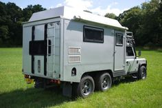 Land Rover Defender 170 Genuine 6x6 Camper Expedition Overland | eBay