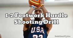 This hurdle basketball shooting drill is going to work on having light quick feet and then coming into your shot the correct way every time. Basketball Shooting Drills, Basketball Skills, Basketball Quotes, Basketball Coach, Cycling Tips, Road Cycling, Workout Plan For Men, Bicycle Women, True Love Quotes
