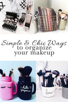 Makeup organization ideas, organize your bathroom