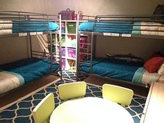 Playroom has four twin bunks plus a ton of toys and a DISH Network TV & blu-ray - Pajaro Dunes house rental