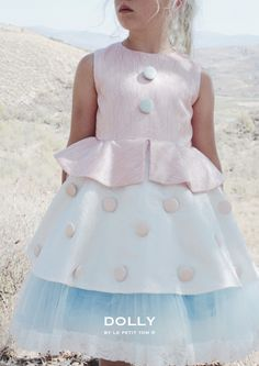 DOLLY by Le Petit Tom ® BUTTON BALLET TOY STORY BO PEEP DRESS/ GOWN light pink