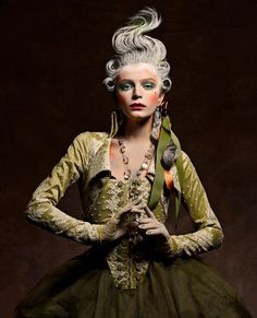 Once upon in a Fairytale: Inspiration. Marie Antoinette by Vincent Alvarez for Aestus Magazine Mode Baroque, Makeup Inspiration, Style Inspiration, Rococo Fashion, Vintage Fashion, Halloween Disfraces, Looks Style, Hair Art, Versailles