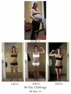 Everyone's body does post pregnancy differently, but this is encouraging!