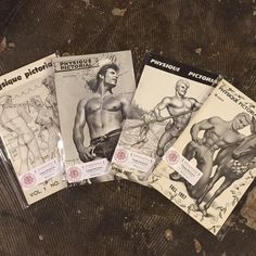 We have lots of Physique Pictorials in the shop!  Come see if any strike your fancy.
