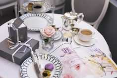 afternoon tea at dior *   {style slicker -- what's up dior, photography by kit lee, Dior pop up cafe at @Harrods http://www.styleslicker.com/2013/03/18/dior-x-harrods/}