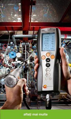 Analiza gazelor de ardere cu Testo: profesională și fiabilă | InstalNews.ro Walkie Talkie, Technology, Electronics, Phone, Tech, Telephone, Tecnologia, Mobile Phones, Consumer Electronics