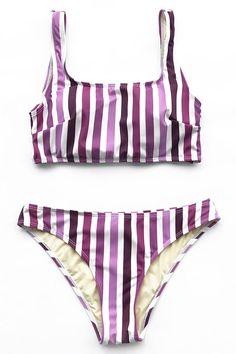 Cupshe Cherish love Tank Bikini Set