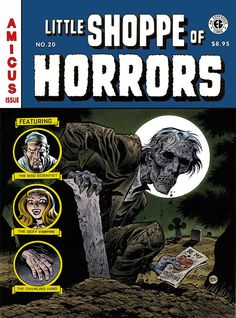 Vintage Horror Comic Covers by Bruce Timm * Scary Comics, Ec Comics, Horror Comics, Horror Films, Comic Book Pages, Comic Book Covers, Comic Books, Arte Horror, Horror Art