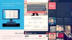 20 Flat Web Design Inspiration