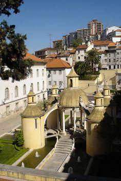 Jardim da Manga, Coimbra, Portugal