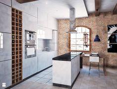 Kuchnia styl Industrialny - zdjęcie od 4Uprojekt- Projekty wnętrz - Kuchnia - Styl Industrialny - 4Uprojekt- Projekty wnętrz