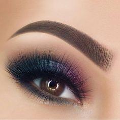 What long eyelashes! Makeup - Eye Make Up ♥ Perfume . - What long eyelashes! make up – Eye Make Up ♥ Parfum. Makeup Eye Looks, Beautiful Eye Makeup, Eye Makeup Tips, Smokey Eye Makeup, Makeup For Brown Eyes, Cute Makeup, Eyeshadow Makeup, Makeup Art, Makeup Brushes