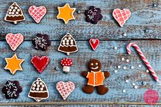 Pierniczki czekoladowe czyli pomysł jak upiec pierniczki z kakao i jak dekorować na Boże Narodzenie.  http://dorota.in/pierniczki-czekoladowe/ #food #kuchnia #xmas #bozenarodzenie #przepis #pierniczki