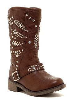 Wanted Mesquite Studded Boot