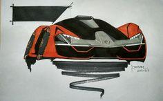Conceptual design of Lamborghini Terzo Millenio! Sort of facelift, you can call!