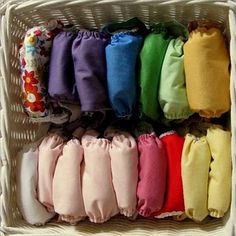 Cloth diapers. :)