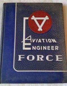 1952 Aviation Engineer Force Yearbook #AviationEngineerForce #AirForce