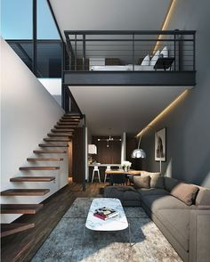Amazing Loft design in #Mexico by A.flo Arquitectos #d_signers