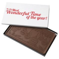 #It's The Most Wonderful Time of the Year Chocolate - #christmastime #Xmas #ChristmasEve Christmas Eve #Christmas #merry #xmas #family #gifts #holidays #Santa