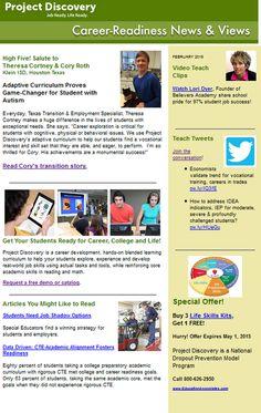 Career education newsletter