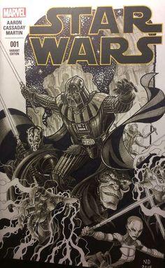 Star Wars - Sith Lords by Nick Bradshaw *