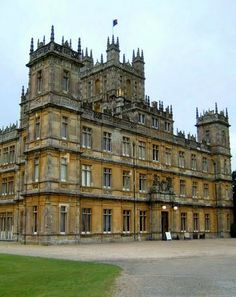 Highclere Castle - England (Downton Abbey)   I have been watching this series on PBS since inception. Yay for season 3!!!
