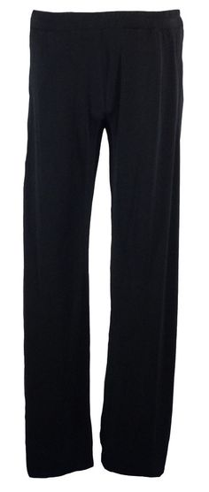 MICHAEL Michael Kors Womens Pants Wide Leg Fluid Jersey Black Sz M NEW $79.50 #MichaelKors #CasualPants