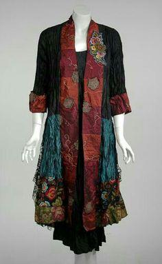 T-shirt Patchwork kimono inspiration-