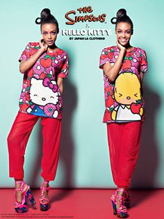 5ac4584b6 18 Best The Simpsons x Hello Kitty Collection: Part 2! images ...