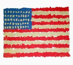 Paper Mosaic Flag