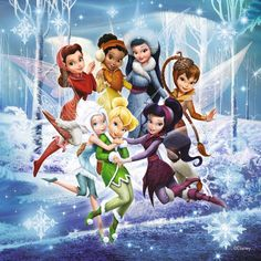 Counted Cross Stitch Patterns   Disney fairies  by lovemystitch