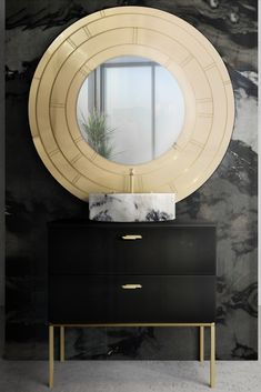 Elegant and modern product combinations for sophisticated bathroom interior design projects and handcrafted in Portugal. In stock products available. Bathroom Design Luxury, Bathroom Interior, Bathroom Ideas, Luxury Bathrooms, Bathroom Furniture, Mirror Furniture, Bathroom Goals, Luxury Furniture, Unique Mirrors