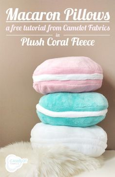 Cute And Colorful DIY Macaron Pillows | Shelterness