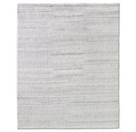 Luxe Heathered Wool Rug - Silver at Restoration Hardware