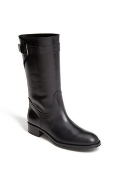 Tod's Flat Moto Boot available at #Nordstrom